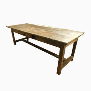 Großer antiker italienischer Tisch aus Nussholz, 1700er