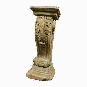 Columna de piedra, década de 1770