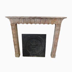 Cornice da camino antica, inizio XX secolo