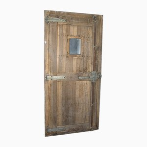 Antique Refrigeration Room Door, 1890s