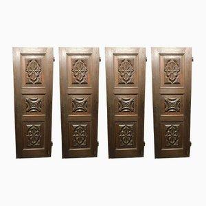 Antique Italian Baroque Doors, Set of 4