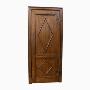 Antike Tür aus Pappelholz, 1760er