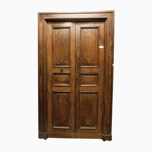 Antique Walnut Double Door, 1750s