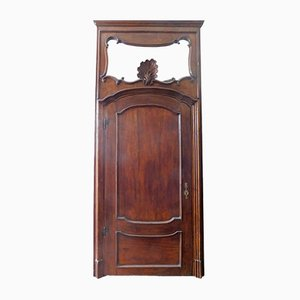 Porta antica in legno, inizio XVIII secolo