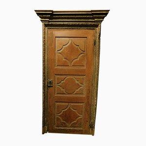 Antike lackierte Tür, 1700er