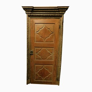 Antique Lacquered Door, 1700s