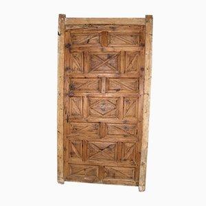 Porta antica in legno di larice