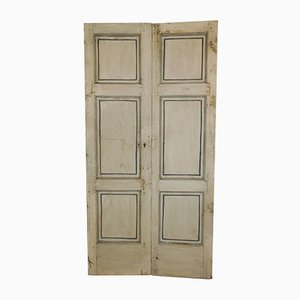 Antique Lacquered Double Doors