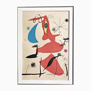Große Oda a Joan Miró Lithografie von Joan Miró, 1973