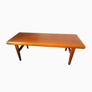 Multifunctional Teak Coffee Table by Johannes Andersen for Trioh, 1960s
