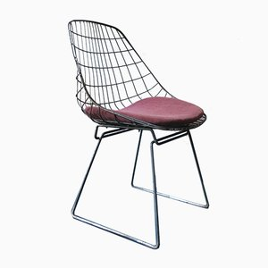 Model SM05 Metal Cage Chair by Cees Braakman for Pastoe, 1950s