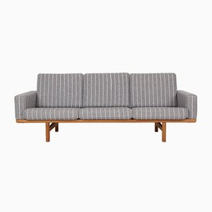 Mid-Century Model GE236 3-Seat Oak Sofa by Hans J. Wegner for Getama