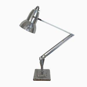 Lámpara de mesa Mid-Century de cromo de George Carwardine para Herbert Terry & Sons, años 60