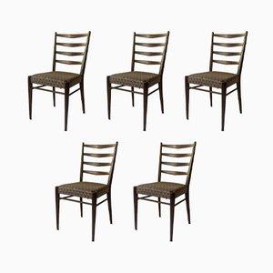 Chaises de Salle à Manger Modèle ST09 par Cees Braakman pour Pastoe, 1960s, Set de 5