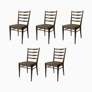 Model ST09 Dining Chairs by Cees Braakman for Pastoe, 1960s, Set of 5