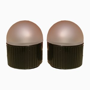 Bulb Table Lamps by Raul Barbieri & Giorgio Marianelli for Tronconi, 1980s, Set of 2