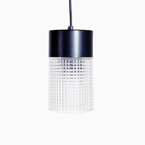 Vintage Suspended Clear Ceiling Lamp from Philips, 1970s