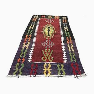 Türkischer Vintage Teppich, 1960er
