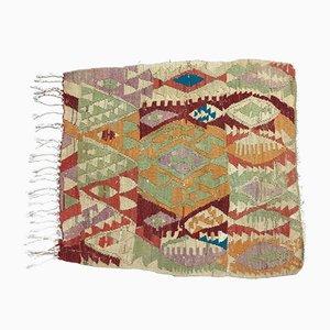 Tappeto Kilim tradizionale in lana, Turchia, anni '60
