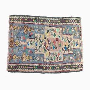 Traditional Turkish Wool Kilim, 1950s