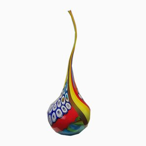 Italian Hand Blown Glass Sculpture by Marco Panisson, 1970s