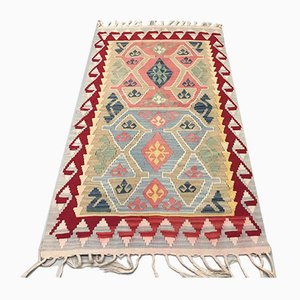 Vintage Turkish Wool Kilim, 1970s