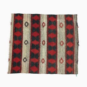 Traditional Turkish Wool Kilim, 1940s