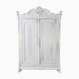Armario de pino con dos puertas, años 20