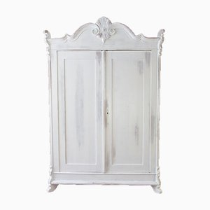 Armoire à 2 Portes Baltique en Pin, 1920s