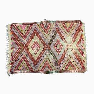 Türkischer Vintage Wollkelim, 1950er