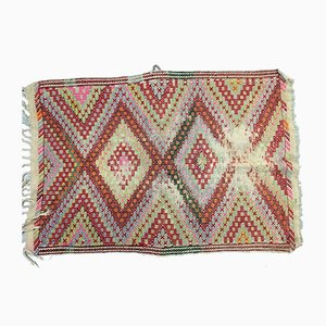 Vintage Turkish Wool Kilim, 1950s
