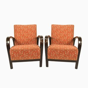 Armchairs by Kozelka and Kropacek for Interier Praha, 1940s, Set of 2