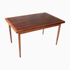 Mesa de comedor de palisandro, años 60