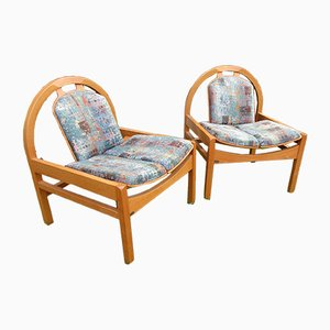 Art Deco Style Argos Chairs from Baumann, 1980s, Set of 2