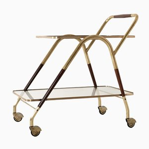 Italian Tea Cart by Cesare Lacca for Cassina, 1950s