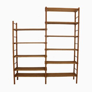 Mid-Century Dutch Plant Stand or Bookcase Wall Unit, 1960s