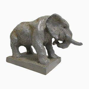 Elephant Sculpture by Herbert Kummer for Herbert Kummer, 1960s