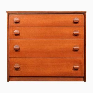 Vintage Teak Chest of Drawers by John & Sylvia Reid for Stag, 1960s
