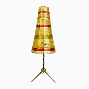 Mid-Century Brass Sputnik Tripod Table Lamp, 1960s