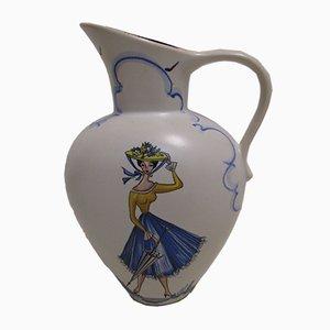 Mid-Century Vase von Marzi & Remy, 1950er
