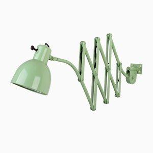 Lámpara acordeón Bauhaus de HALA - Hannoversche Lampenfabrik, años 30