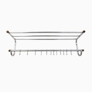 Large Industrial Coat Rack, 1930s