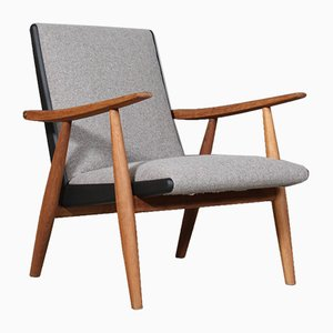 Model Ge-260 Lounge Chair by Hans J. Wegner for Getama, 1960s