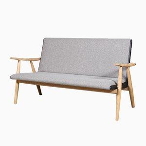 Modell Ge-260 Sofa von Hans J. Wegner für Getama, 1970er