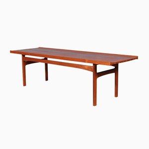 Mesa de centro de teca de Tove & Edvard Kindt-Larsen para Seffle Möbelfabrik, años 60