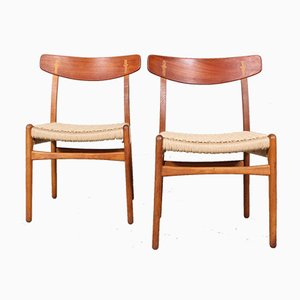 Model 23 Dining Chair by Hans J. Wegner for Carl Hansen & Søn, 1970s