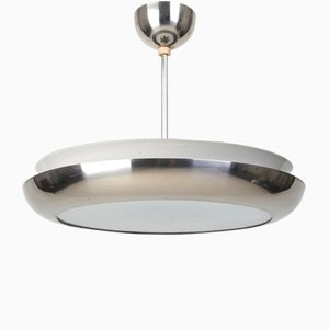 Large Bauhaus Functionalist Pendant by Josef Hurka for Napako, 1940s