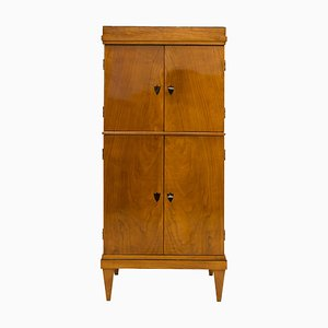 Antique Biedermeier Style German Cherry Cupboard