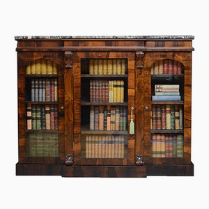 Antikes William IV Bücherregal aus Palisander