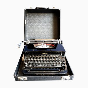 Silent Model Portable Typewriter from Corona, 1930s